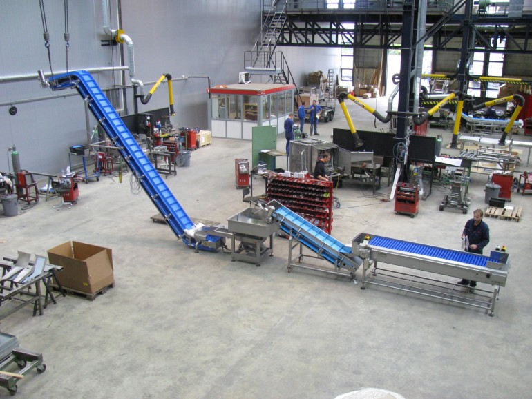 Machine line for red beet